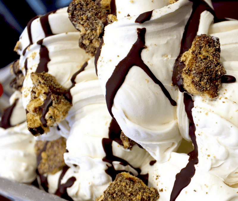 S'MORES GELATO HAS ARRIVED JUST IN TIME FOR SUMMER!